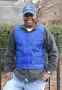 Blue Polyester Motorcycle Vest
